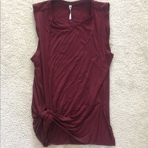 fabletics knotted tank